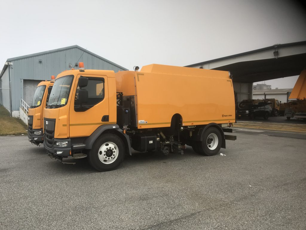Beam A9000 Glycol Recovery Vehicle