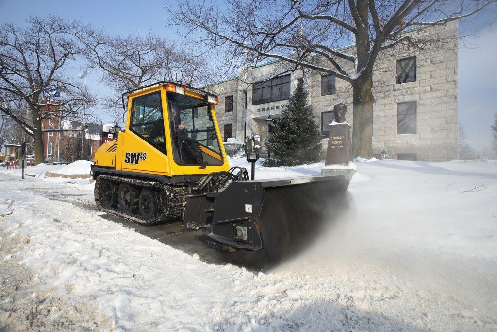 image of the Prinoth SW50 snow broom
