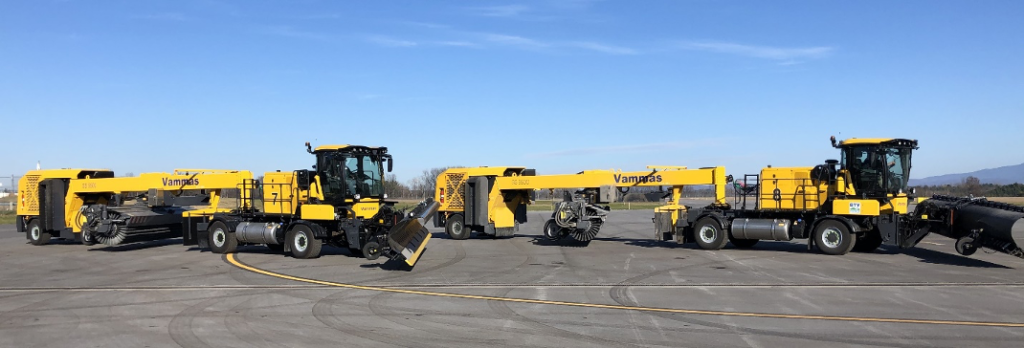 Image of Vammas St/Sb 5500 snow blowers and plows at Burlington Airport